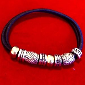 Brighton Double Band Ponytail Holder Bracelet